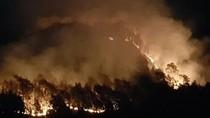 Detik-detik Gunung Semeru Kebakaran