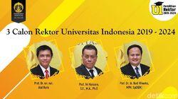 Ini Harapan Sri Mulyani-Komarudin Hidayat untuk Rektor Baru UI 2019-2024