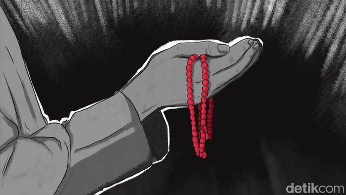 Ilustrasi doa doa tolak bala  (Denny Putra/detikcom)