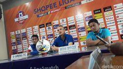 Arema FC Pantang Remehkan Persela