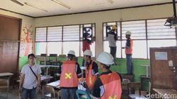 Blower Dipasang di Kelas SDN 07 Cilincing yang Tercemar Polusi Pabrik