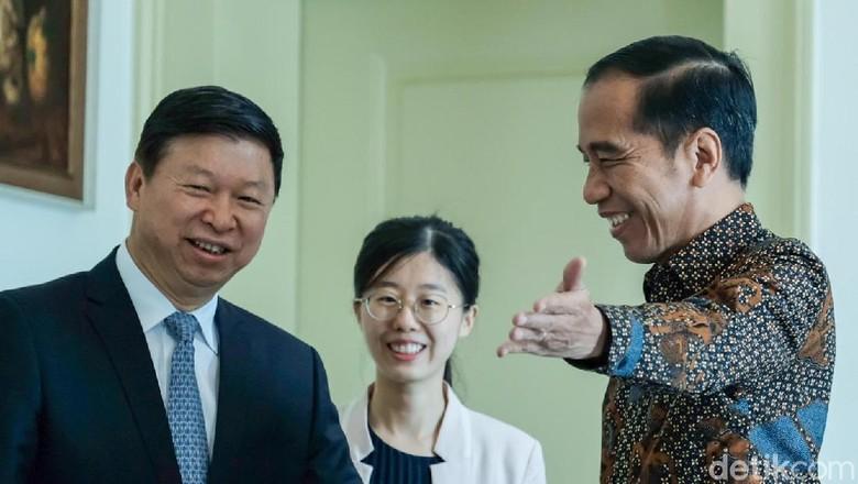 Bertemu Jokowi, Perwakilan China Sampaikan Salam dari Xi Jinping