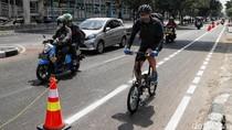 Anies Targetkan 63 Km Jalur Sepeda Rampung Tahun Ini