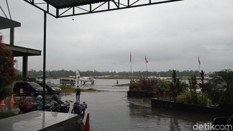 Pencarian Pesawat Twin Otter di Papua Pagi Ini Terkendala Cuaca Buruk