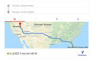 Dear Kumalasari, Jarak Antara Florida & Nevada Itu 4.227 Kilometer