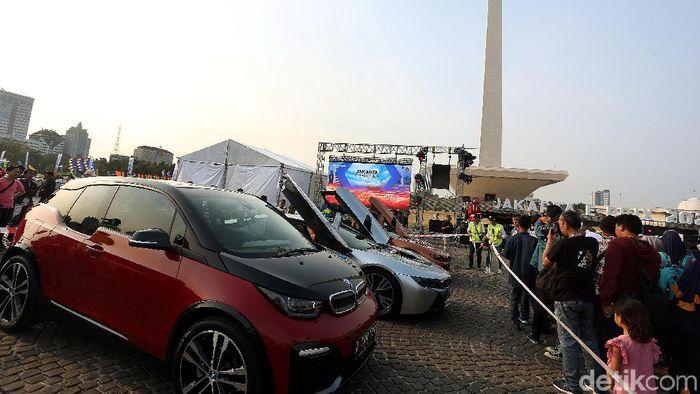 Monas dikabarkan jadi lokasi sirkuit balapan Formula E 2020 (Rengga Sancaya/detikSport)