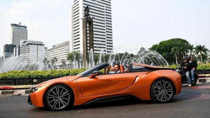 Jakarta gelar Formula E pada 6 Juni 2020 (ANTARA FOTO/M Risyal Hidayat)