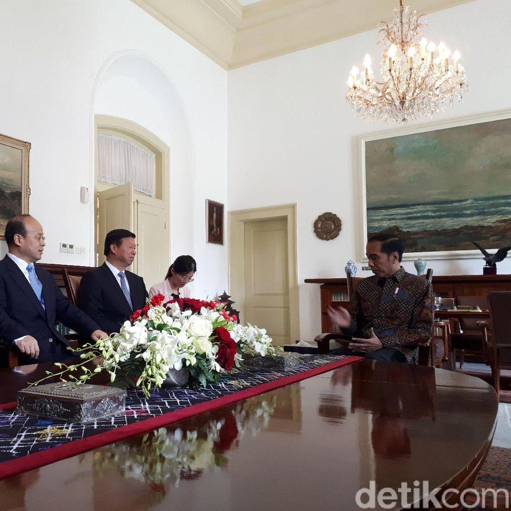 Kunjungi Indonesia, Elite Partai Komunis China Temui Jokowi-Prabowo