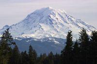 Gunung Rainier (iStock)