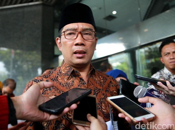 Gubernur Jawa Barat Ridwan Kamil (Foto: Ari Saputra/detikcom)