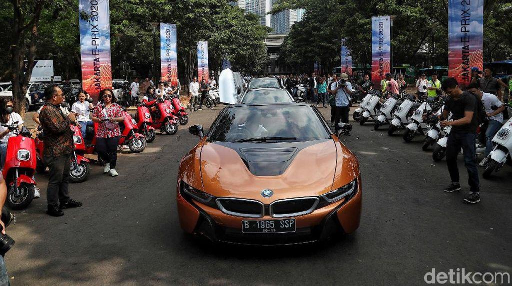 Formula E di Jakarta, Rekayasa Lalu Lintas di Kawasan Monas Bisa Sepekan