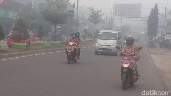 Udara di Jambi Tak Sehat, Libur Sekolah dan Kuliah Diperpanjang Lagi