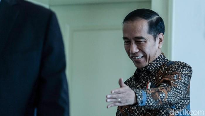 Foto: Presiden Jokowi. (Andhika Prasetia/detikcom).