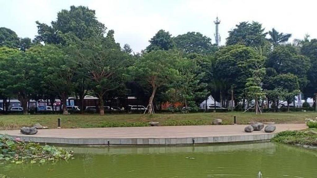 Sejuknya Jakarta di Hutan Kota GBK