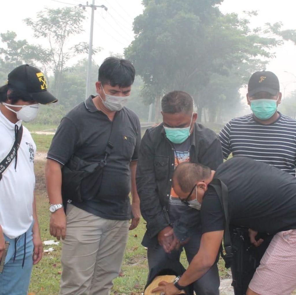 Cerita Polres Jakbar Buru Kurir Sabu di Riau yang Diselimuti Kabut Asap