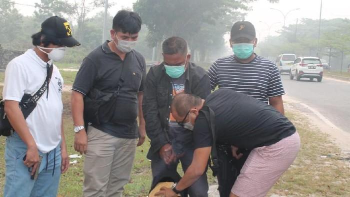 Polisi tangkap penyelundup narkoba yang manfaatkan kabut asap (Foto: dok. Istimewa)