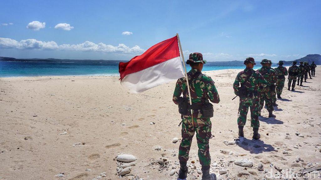 Foto: Bakti TNI Menjaga Pulau Paling Selatan Negeri