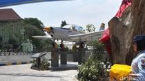 Resmikan Monumen Pesawat UNS, Panglima TNI Kenang Momen Terbang Solo