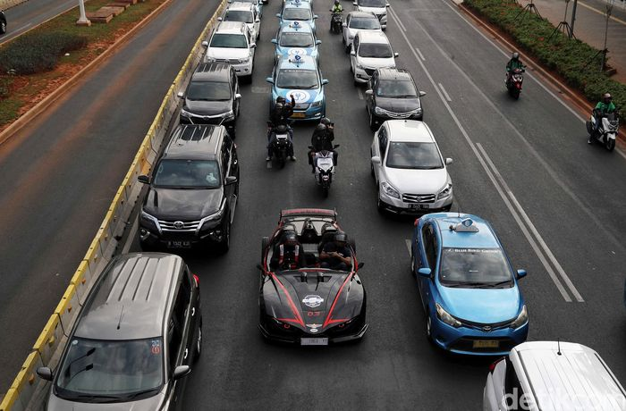 Ilustrasi mobil listrik/Foto: Pradita Utama