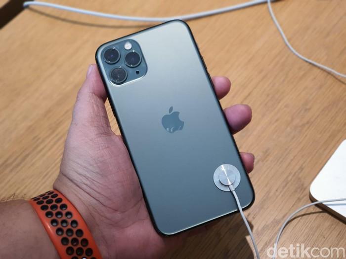 iPhone 11 Pro Max. Foto: Adi Fida Rahman/detikINET