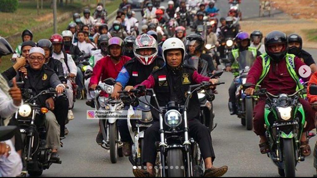 Pesan Ustaz Somad Bagi Bikers yang Ingin Touring
