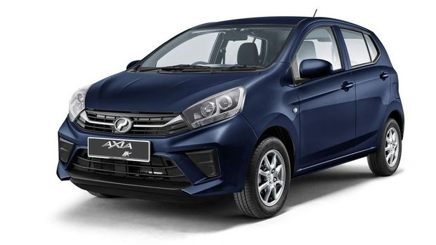 Perodua Axia 2019