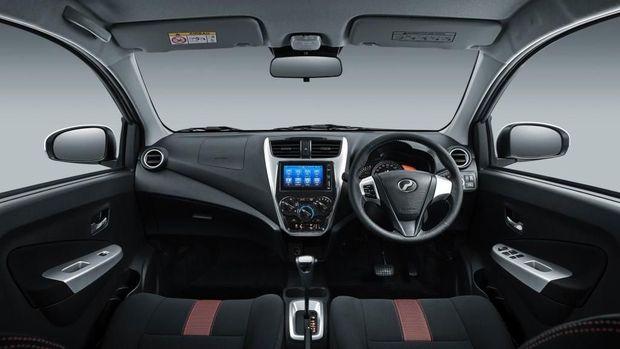 Interior Perodua Axia 2019