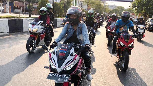 Jambore Nasional (Jamnas) penggemar motor Honda pada 14-15 September 2019.