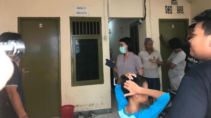 Foto: Lokasi penemuan mayat wanita yang tewas saat melahirkan (Rolando)