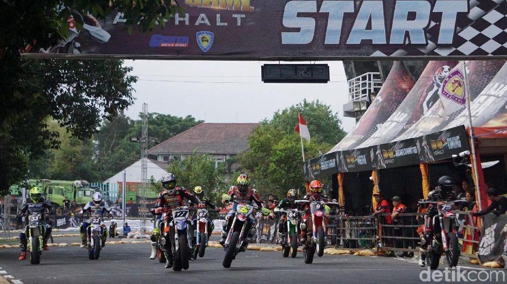 Lewish Cronis Pimpin Persaingan Hari Pertama Trial Game Asphalt Yogyakarta