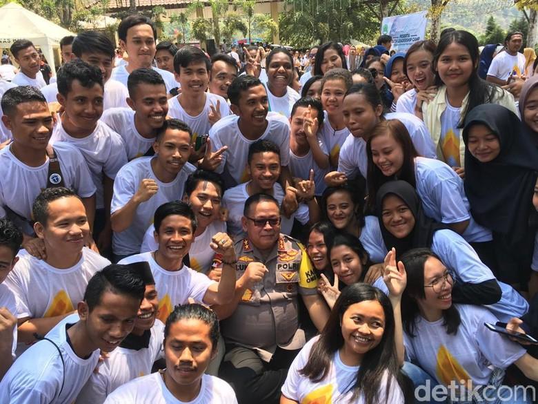 Wejangan Kapolda Jatim di Jambore Cipayung Plus Mojokerto
