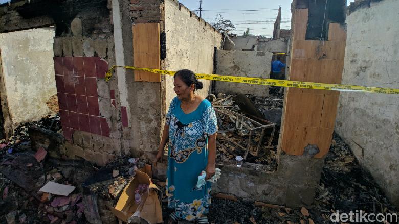 Cerita Nenek Yusnita Selamatkan Cucu dari Kebakaran Hebat di Jatinegara