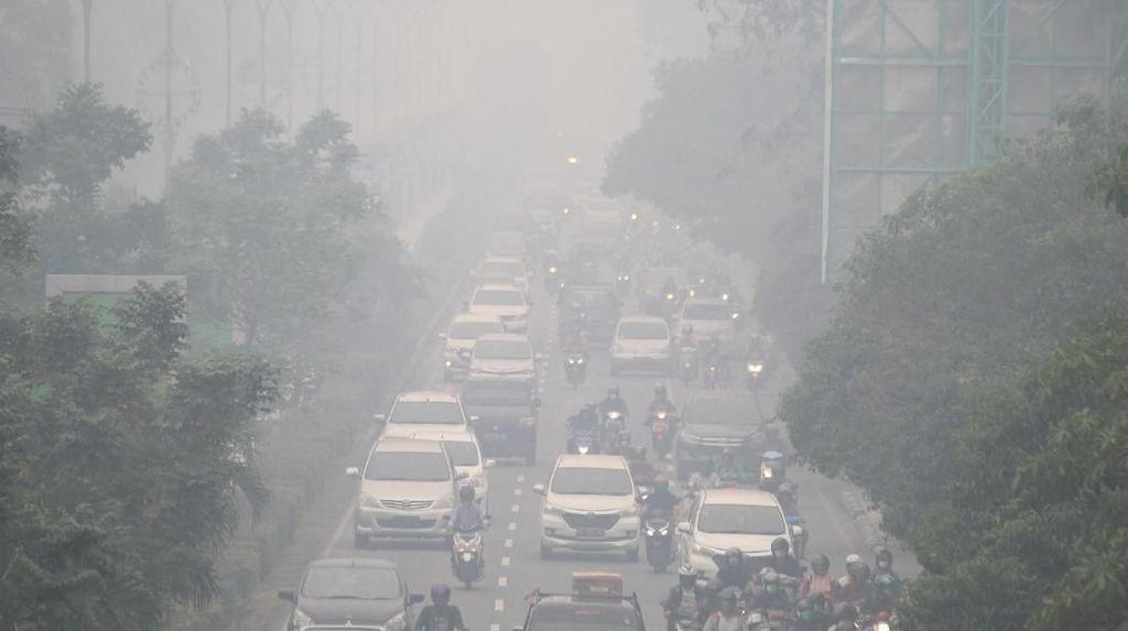Data AirVisual Pagi Ini: Udara Jambi-Palangkaraya Berbahaya