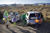 Area 51 Diserbu Pencari Alien, 3 Orang Ditangkap
