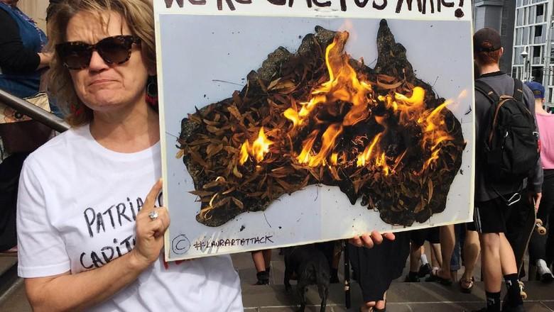 Lautan Manusia di Aksi Demo Terbesar dalam Sejarah Australia