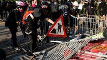 Ribuan Demonstran Hong Kong Kembali Beraksi, Polisi Tembakkan Gas Air Mata
