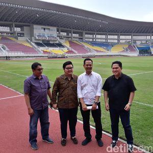 Sambangi Stadion Manahan, Erick Thohir Beri Isyarat Beli Persis Solo