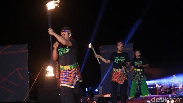 Andi Rif Sampai Penari Samba Goyang Kepulauan Seribu