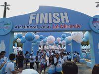 Le Minerale Gelar Fun Run hingga Lelang Alat Olahraga