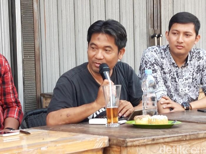 Ray Rangkuti dari Lingkar Madani (Rahel NC/detikcom)