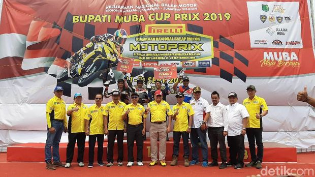 Usai Motoprix, Pemkab Muba Siap Gelar Kejurnas One Prix Tahun Depan