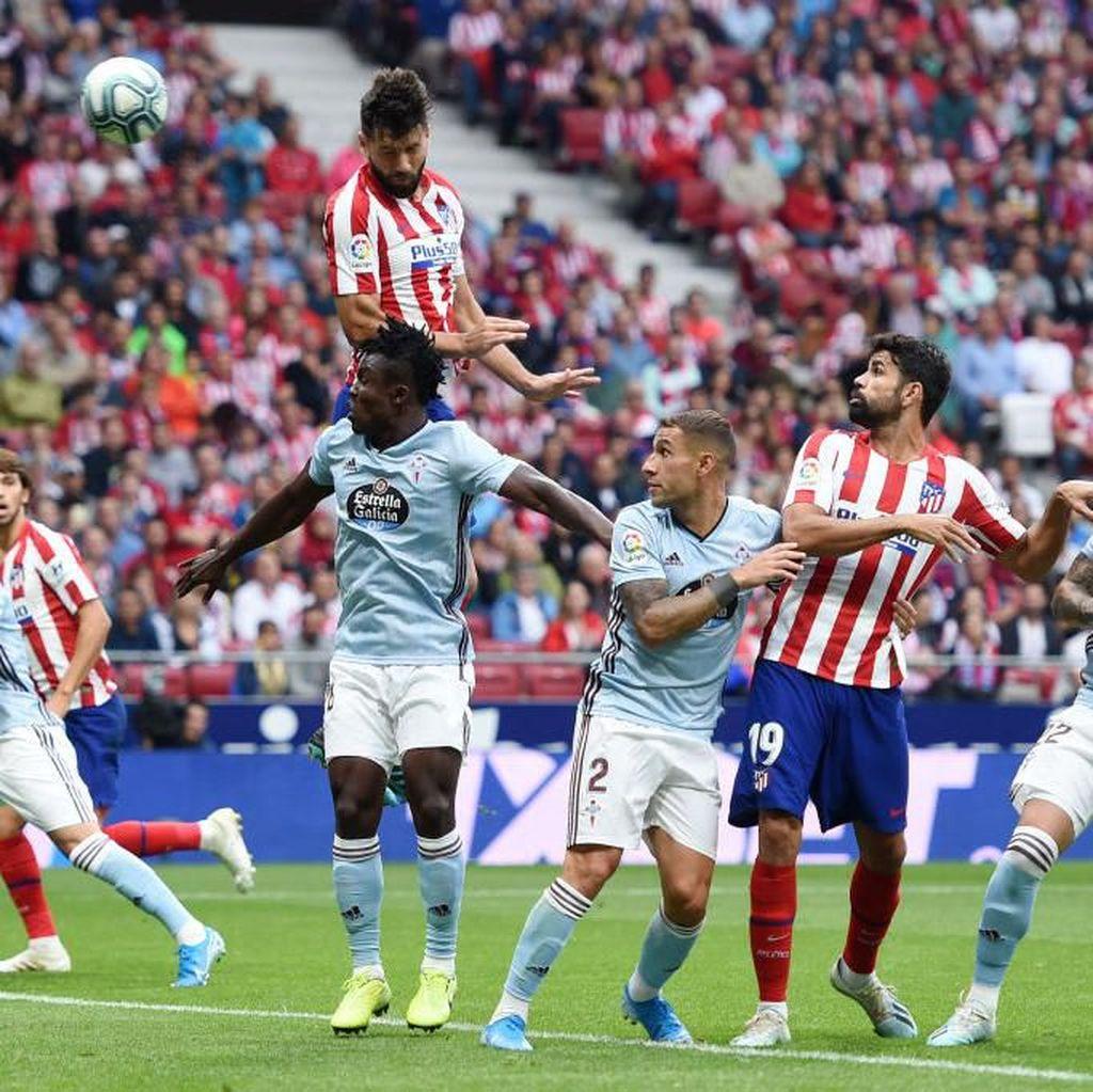 Gagal Menang Lagi, Atletico Diredam Celta Vigo 0-0