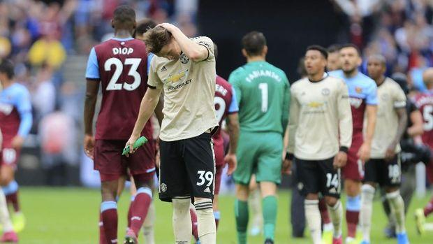 MU menelan kekalahan kedua di Liga Inggris.