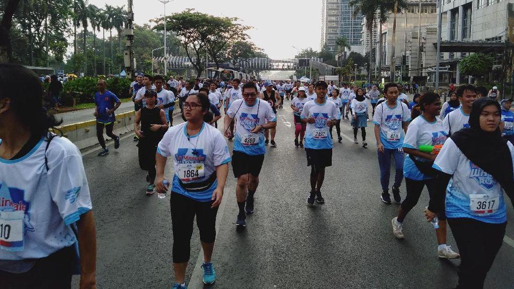 Fun Run hingga Bazar Alat Olahraga Ramaikan Le Minerale Water Run