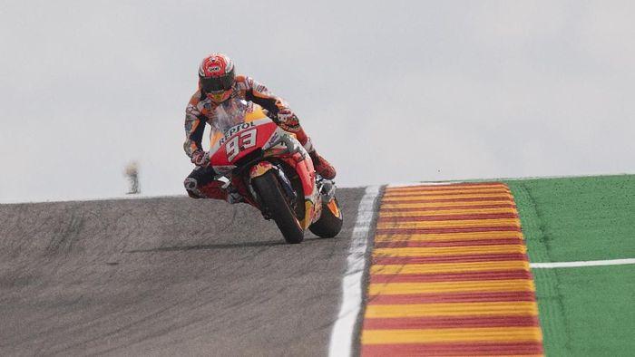 Marc Marquez bisa mengunci titel juara dunia MotoGP 2019 pada MotoGP Thailand di akhir pekan ini (Mirco Lazzari gp/Getty Images)