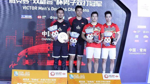 All Indonesian Final adalah mimpi yang coba diwujudkan nomor ganda putra pada Olimpiade Tokyo 2020.