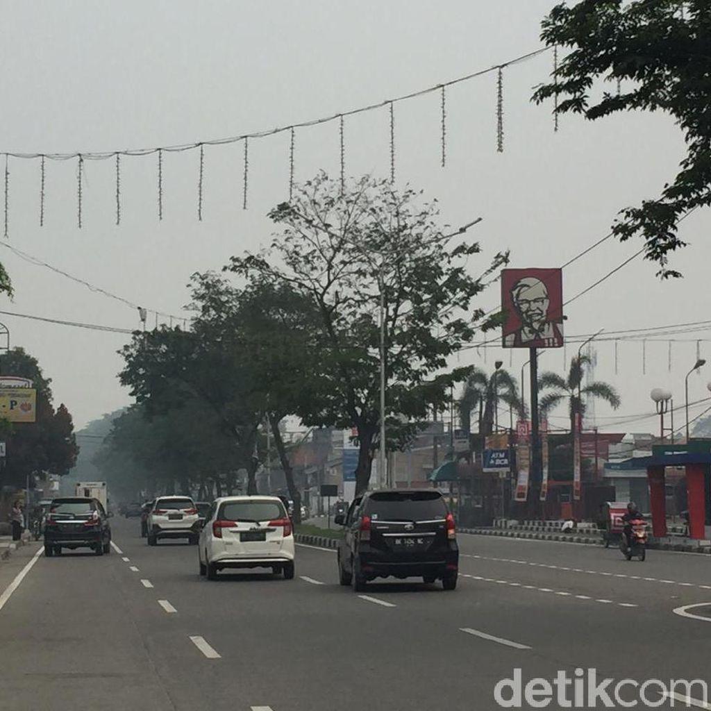 Terpapar Asap Karhutla, Kualitas Udara Medan Tidak Sehat