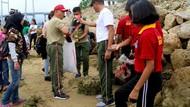Peringati HUT TNI ke-74, Kodam Pattimura Bersihkan Teluk Ambon