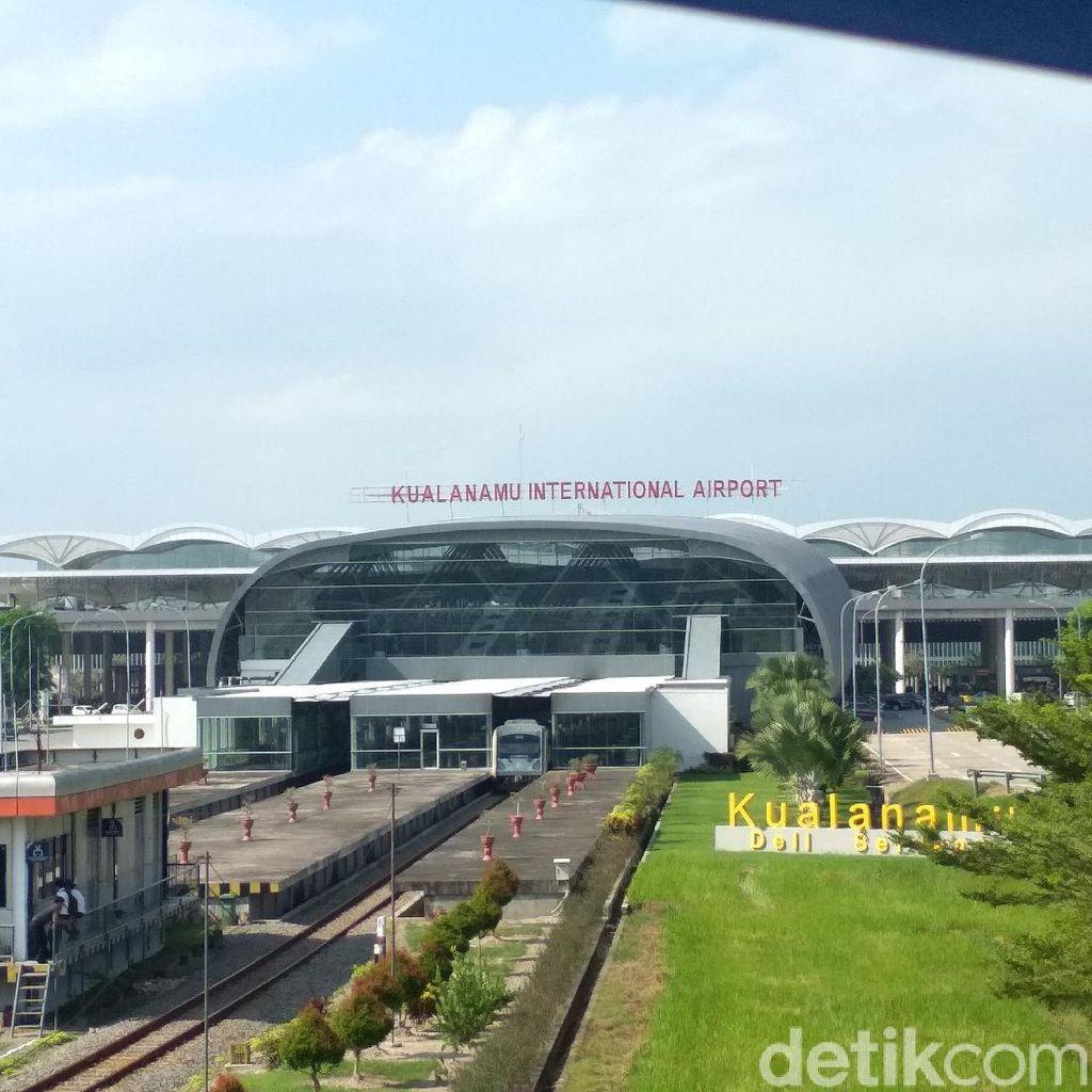 Dampak Kabut Asap, 3 Penerbangan Dibatalkan di Kualanamu