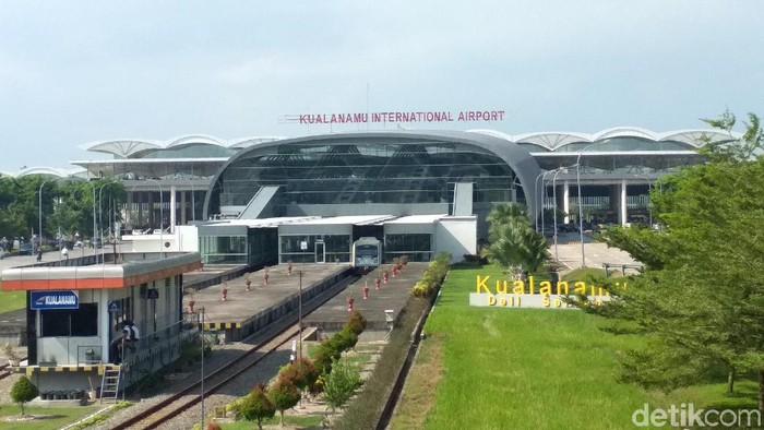 Ilustrasi Bandara Kualanamu (Khairul-detikcom)